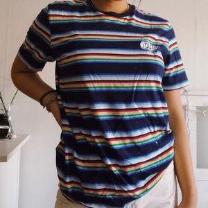 Rainbow Striped T-Shirt